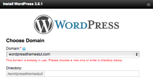 GoDaddy WordPress Installation